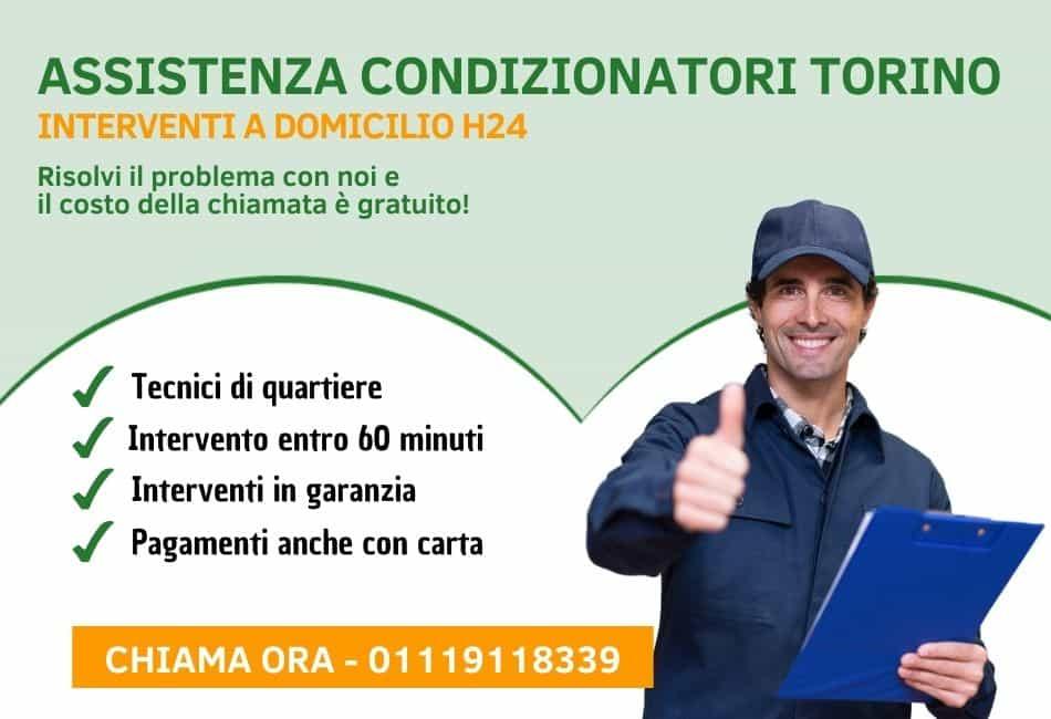 Assistenza Condizionatori e Climatizzatori a Torino